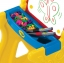 โต๊ะวาดเขียนเอนกประสงค์สำหรับเด็ก Crayola Play 'N Fold 2-in-1 Art Studio (Red & Yellow) thumbnail 5
