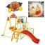 ชุดกิจกรรมปีนป่ายพร้อมชิงช้าแบบพับได้ Anpanman Easy Foldable Swing Park Jungle Gym DX thumbnail 1