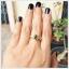 แหวนเขียวส่องแท้ ทองแท้ สวยเก๋อย่างมีสไตล์(สามารถสั่งทำได้ค่ะ) thumbnail 5