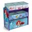 ชั้นเก็บของเล่นสำหรับลูกน้อย Delta Children Multi-Bin Toy Organizer (Disney The Little Mermaid) thumbnail 1
