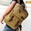 VT07- Green กระเป๋าเป้แคนวาส กระเป๋าผู้ชาย สีเขียว thumbnail 42