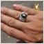 แหวน Black Star Sapphire ขาสวยคมชัด thumbnail 5