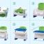 เก้าอี้ทานข้าวพร้อมของเล่นเสริมพัฒนาการ Royalcare Booster Seat Rainforest thumbnail 8