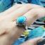 แหวนเงินแท้มาร์คาไซท์ ประดับหินสีรูปไข่ thumbnail 2