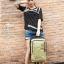 NB02 กระเป๋าทำงาน กระเป๋าโน๊ตบุ๊ค สีเทา ขนาด 12 ลิตร thumbnail 8