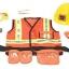 ชุดแฟนซีคอสตูมพร้อมอุปกรณ์สุดน่ารัก Melissa & Doug รุ่น Role Play Costume Set (Construction Worker) thumbnail 2