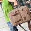 VT07- Green กระเป๋าเป้แคนวาส กระเป๋าผู้ชาย สีเขียว thumbnail 38