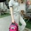 NL06 กระเป๋าเดินทาง สีชมพู ขนาดจุสัมภาระ 28 ลิตร thumbnail 29