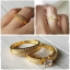 แหวนคู่เงินแท้ ชุบทองคำแท้ thumbnail 2