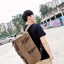 TR01 กระเป๋าทรงกระบอกใหญ่ แคนวาส สีเทา thumbnail 9