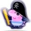เจลประคบร้อนและเย็น Peppa Pig Bruise Soother (Pirate George) thumbnail 2