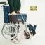 รถเข็นผู้ป่วย รถเข็นผู้สูงอายุ วีลเเชร์ MIKI รุ่น MOCC-43JL thumbnail 5