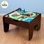 โต๊ะกิจกรรมสำหรับเลโก้พร้อมชุดรถไฟ Kidkraft 2-in-1 Activity Table with LEGO-Compatible Board and Train Set (Espresso) thumbnail 4