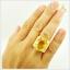 แหวนพลอยซิทรินแท้ แหวนพลอยสวยๆ (สามารถสั่งทำได้ค่ะ) thumbnail 5