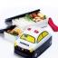 กล่องอาหารกลางวันและของว่าง Skater Tomica Bento Lunch Box (Police Car) thumbnail 3