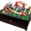 โต๊ะกิจกรรมเอนกประสงค์พร้อมชุดโมเดล KidKraft Metropolis Train Set and Table thumbnail 2