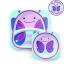 จานและชามบรรจุอาหารสุดน่ารัก Skip Hop รุ่น Zoo Melamine Set (Butterfly) thumbnail 1