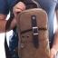 MN02 กระเป๋าคาดอกสะพายข้าง สีน้ำตาล thumbnail 16