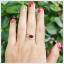 แหวนโกเมนแท้ ดีไซน์สุดเก๋ ใส่ติดนิ้วน่ารักๆ thumbnail 4
