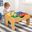 โต๊ะกิจกรรมสำหรับเลโก้พร้อมชุดรถไฟ Kidkraft 2-in-1 Activity Table with LEGO-Compatible Board and Train Set (Natural) thumbnail 11