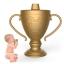 แก้วหัดดื่มสุดฮา Fred LIL' WINNER Trophy Sippy Cup thumbnail 1