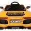 รถแบตเตอรี่พร้อมรีโมทบังคับ Lamborghini Aventador LP700 6V Battery-Powered Ride-On (Yellow) thumbnail 3