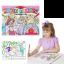 แผ่นภาพระบายสีมหัศจรรย์ Melissa & Doug รุ่น Magic Pattern Marker Coloring Pad (Pink) thumbnail 1