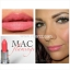 MAC Lustre Lipstick Flamingo 3 g (ขนาดปกติ) ลิปสติกเนื้อครีมสีชมพูอมส้มให้ลุคชุ่มฉ่ำ ปกปิดสีปากค่อนข้างดีทีเดียวค่ะ