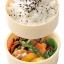 กล่องอาหารกลางวันและของว่าง Skater 2-Level Bento Lunch Box with Fork (Captain America) thumbnail 4