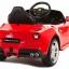 รถแบตเตอรี่พร้อมรีโมทบังคับวิทยุ Ferrari F12 Berlinetta Remote-Controlled 12V Battery-Powered Ride-On (Red) thumbnail 3