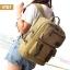 VT07- Green กระเป๋าเป้แคนวาส กระเป๋าผู้ชาย สีเขียว thumbnail 37