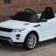 รถแบตเตอรี่พร้อมรีโมทบังคับวิทยุภายใต้ลิขสิทธิ์แท้ของรถยนต์ Land Rover รุ่น Evoque 12V Battery-Powered Ride-On SUV thumbnail 9
