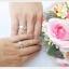 แหวนพลอยคู่รัก Feel good ฝังพลอยบุษราคัมแท้ thumbnail 4