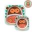 จานและชามบรรจุอาหารสุดน่ารัก Skip Hop รุ่น Zoo Melamine Set (Hedgehog) thumbnail 1