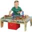 โต๊ะกิจกรรมเอนกประสงค์พร้อมชุดโมเดลรถไฟ Maxim 50-Piece Train Set with 2-in-1 Activity Table thumbnail 2
