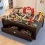 โต๊ะกิจกรรมเอนกประสงค์พร้อมชุดโมเดล KidKraft Metropolis Train Set and Table thumbnail 9