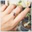แหวนนพเก้า รูปดอกไม้ ชุบทองคำแท้ thumbnail 7