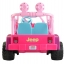 รถจี๊ปบาร์บี้พลังแรงสูงแบบ 2 ที่นั่งสำหรับลูกสาว Fisher-Price รุ่น Power Wheels Barbie Jammin' Jeep Wrangler 12-Volt Battery Powered Ride-On (Pink) thumbnail 6