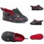 รองเท้าผ้าใบสำหรับเด็ก VANS Toddler Asher V Asphalt/Racing Red thumbnail 6