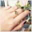 แหวนเขียวส่องแท้ ทองแท้ สวยเก๋อย่างมีสไตล์(สามารถสั่งทำได้ค่ะ) thumbnail 4