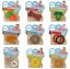 ยางกัดรูปทรงสุดฮา Little Toader Appe Teethers Teething Toys (3 Carat Teether) thumbnail 7