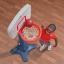 ชุดอุปกรณ์กีฬาบาสเก็ตบอลครบเซ็ท Step2 Shootin' Hoops Junior Basketball Set thumbnail 10