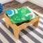โต๊ะกิจกรรมสำหรับเลโก้พร้อมชุดรถไฟ Kidkraft 2-in-1 Activity Table with LEGO-Compatible Board and Train Set (Natural) thumbnail 8