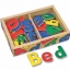 ตัวอักษรแม่เหล็กปลอดสารพิษ Melissa & Doug 52 Wooden Alphabet Magnets thumbnail 2