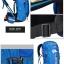 DF07 กระเป๋าเดินทาง สีน้ำเงิน ขนาด 50 ลิตร (เสริมโครง) thumbnail 9