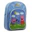 กระเป๋าเป้สะพายหลังสำหรับเด็ก Peppa Pig Under the Rainbow Backpack for Kids thumbnail 2