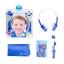 หูฟังควบคุมระดับเสียงสำหรับเด็ก BuddyPhones Volume-Limiting Headphones for Kids - InFlight (Blue) thumbnail 3