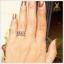 แหวน Black Star Sapphire ฉลุลายเก๋ๆ เสริมเสน่ห์บนนิ้ว thumbnail 4