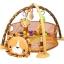 เพลย์ยิมพร้อมบ่อบอลสุดน่ารัก Konig Kids 3-in-1 Lion Activity Gym & Ball Pit thumbnail 4