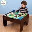 โต๊ะกิจกรรมสำหรับเลโก้พร้อมชุดรถไฟ Kidkraft 2-in-1 Activity Table with LEGO-Compatible Board and Train Set (Espresso) thumbnail 10